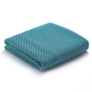yoyoyoyoga Accessories Sky blue / 30*100 Sports ice towel