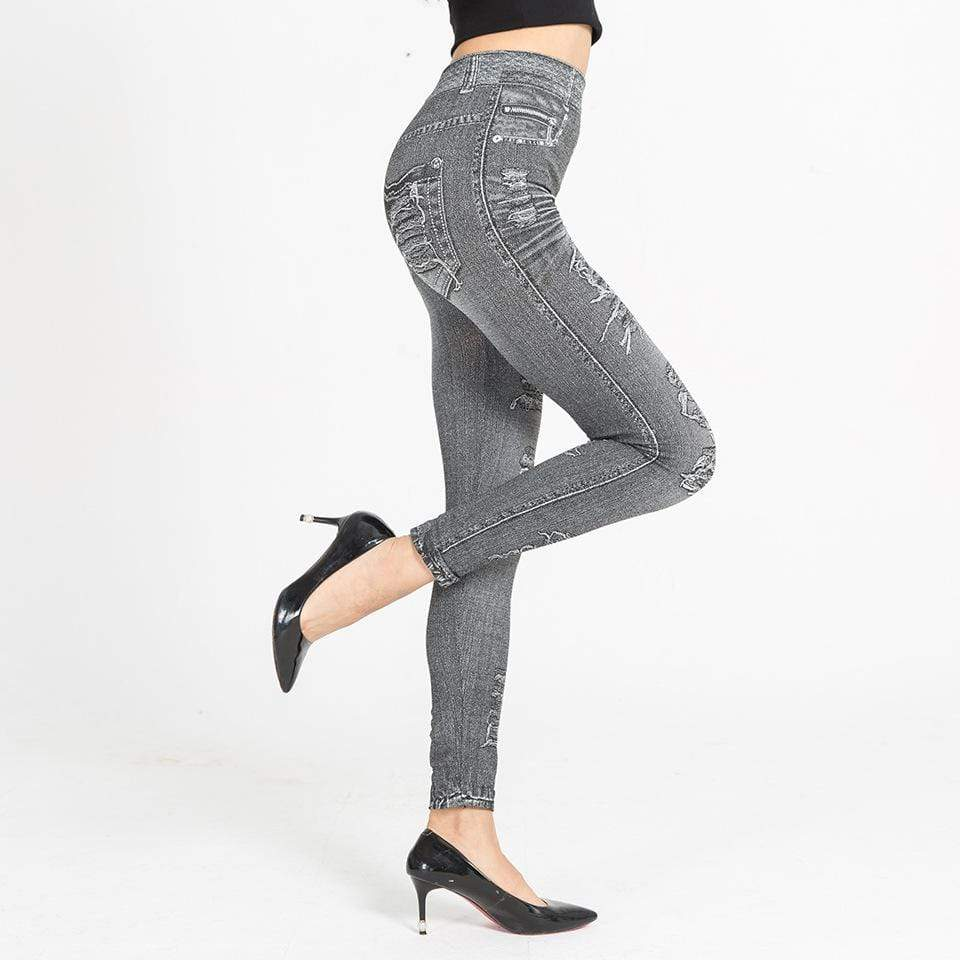 yoyoyoyoga Bottoms Stretchy Slimming Jeans Leggings