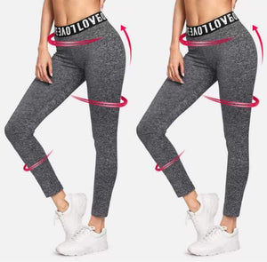 yoyoyoyoga.com Bottom M High Waist Anti-Cellulite Compression Sports Leggings