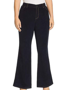 yoyoyoyoga.com Bottoms Black / S Women's Solid Color Casual Flared Pants