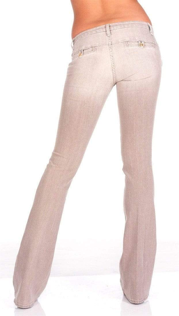 yoyoyoyoga.com Bottoms Women's Light Flared Jeans