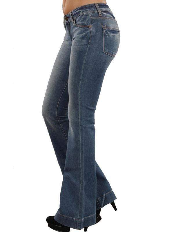 yoyoyoyoga.com Bottoms Women's Slim Flare Jeans
