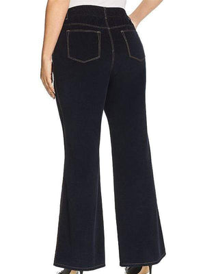 yoyoyoyoga.com Bottoms Women's Solid Color Casual Flared Pants