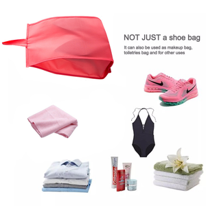 yoyoyoyoga.com Clothes & Accessories PINK Waterproof Travel Shoe Bags