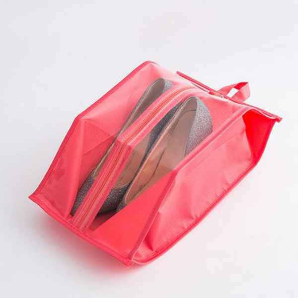 yoyoyoyoga.com Clothes & Accessories RED Waterproof Travel Shoe Bags