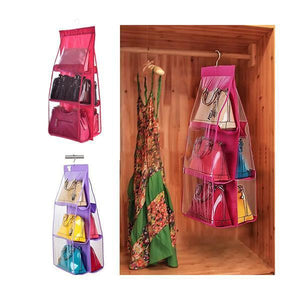 yoyoyoyoga.com Clothes & Accessories ROSERED Hanging Purse Organizer