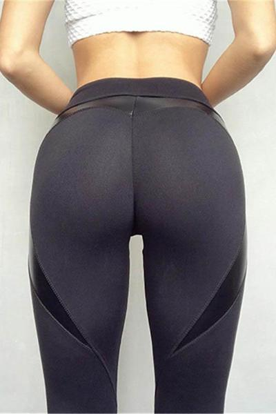 yoyoyoyoga.com Leggings Heart Shaped Stitching Hip-lifting Leggings