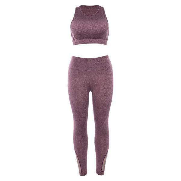 yoyoyoyoga.com Leggings Pink / S Women Fitness Leggings Stretch Slim Sportswear
