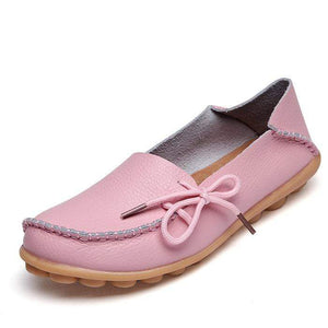 yoyoyoyoga.com Shoes Pink / US 5 New Design Heel Pain Relief Massage Flat Shoes