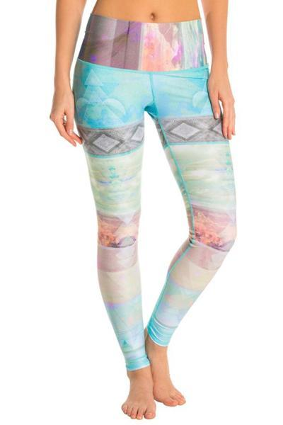 yoyoyoyoga.com Yoga Pants Sky blue / M Blue Yoga Leggings