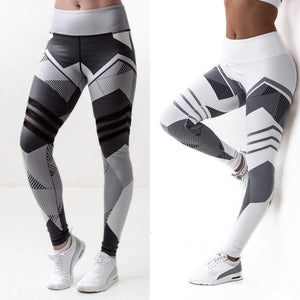 yoyoyoyoga High waist stretch printed yoga pants