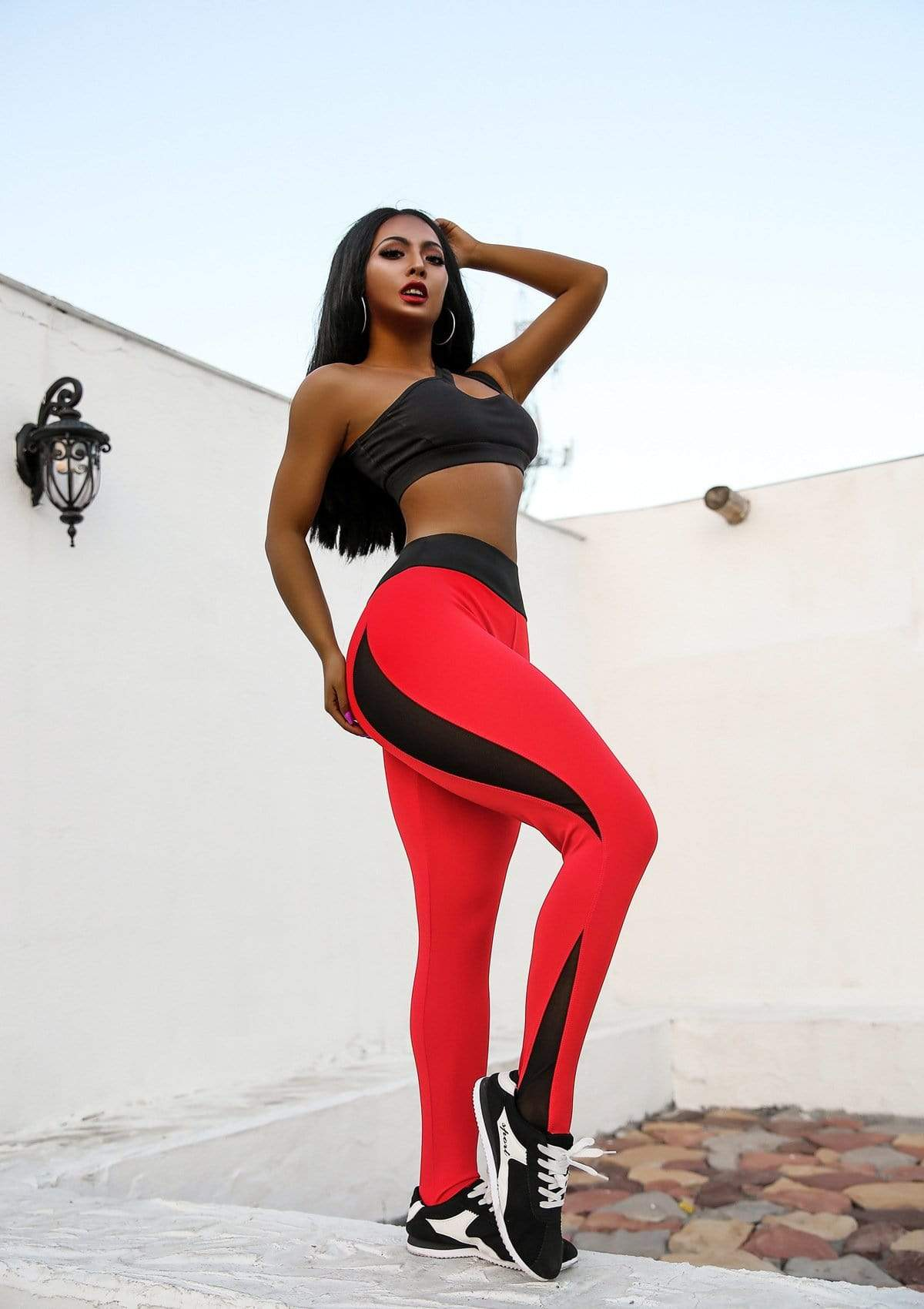 yoyoyoyoga Super breathable anti-cellulite compression leggings