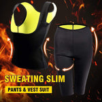 yoyoyoyoga Yoga Pants Black / S Super Stretch Waist Shaper Slimming Pants & Vest Suit