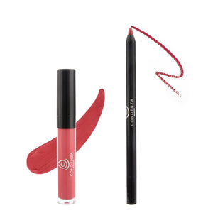 Extended Wear- Mate Liquid Lipstick and Liner Kit - Condenza Beauty