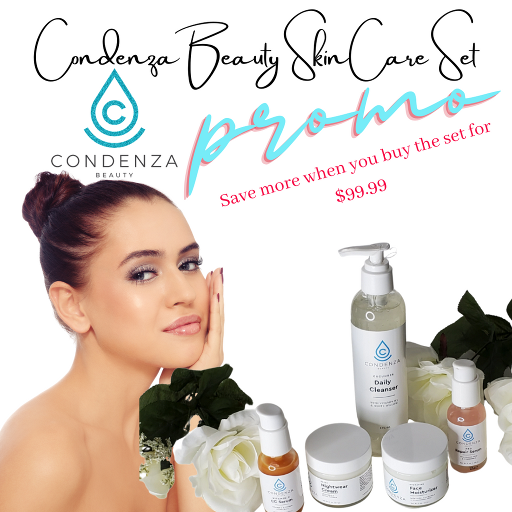 Condenza Beauty Skincare Set - Condenza Beauty