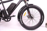 Breeze Pro Fat Tire Electric Mountain Bike 750W,48V, 11.6Ah Matte Black
