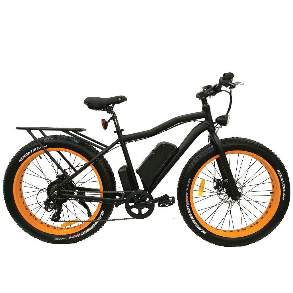 "Breeze Fat Tire Electric Mountain Bike 500W, 48V, 10.4Ah, 26*4"" Wheels"