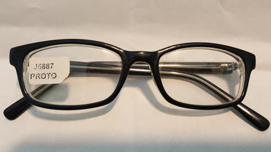 Plastic Lenses Clear (Single Vision) With this Frame -Ma J5887 46-17 Complete