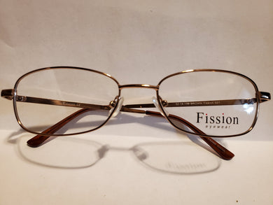 Plastic Frames Fission 021 Wo 52-18-138 B32 Full length 137 - Shiny Light Brown  (Nice for Small face)