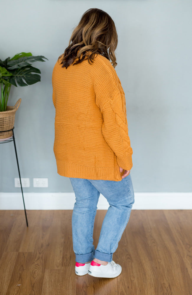 Amy Cable Cardigan-Outerwear-Sister Story