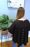 Holly Button Back Top-Top-Sister Story