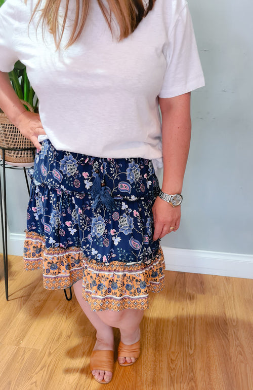 Gracie Ruffle Skirt