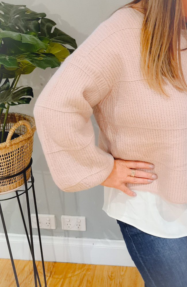 Friya Jumper - Blush
