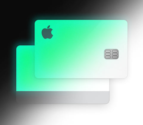 Green Glow <br>Apple Card Glow Cover