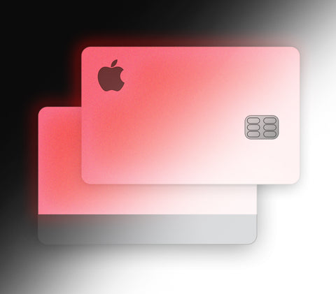 Pink Glow <br>Apple Card Glow Cover
