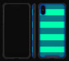 Nautical Striped <br>iPhone Xs Max - Glow Gel case