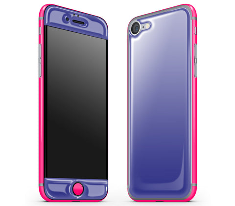Purple / Neon Pink <br>iPhone 7 - Glow Gel Combo