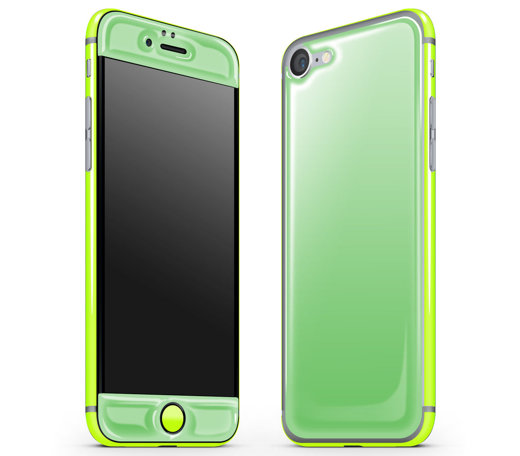 Apple Green / Neon Yellow <br>iPhone 7 - Glow Gel Combo