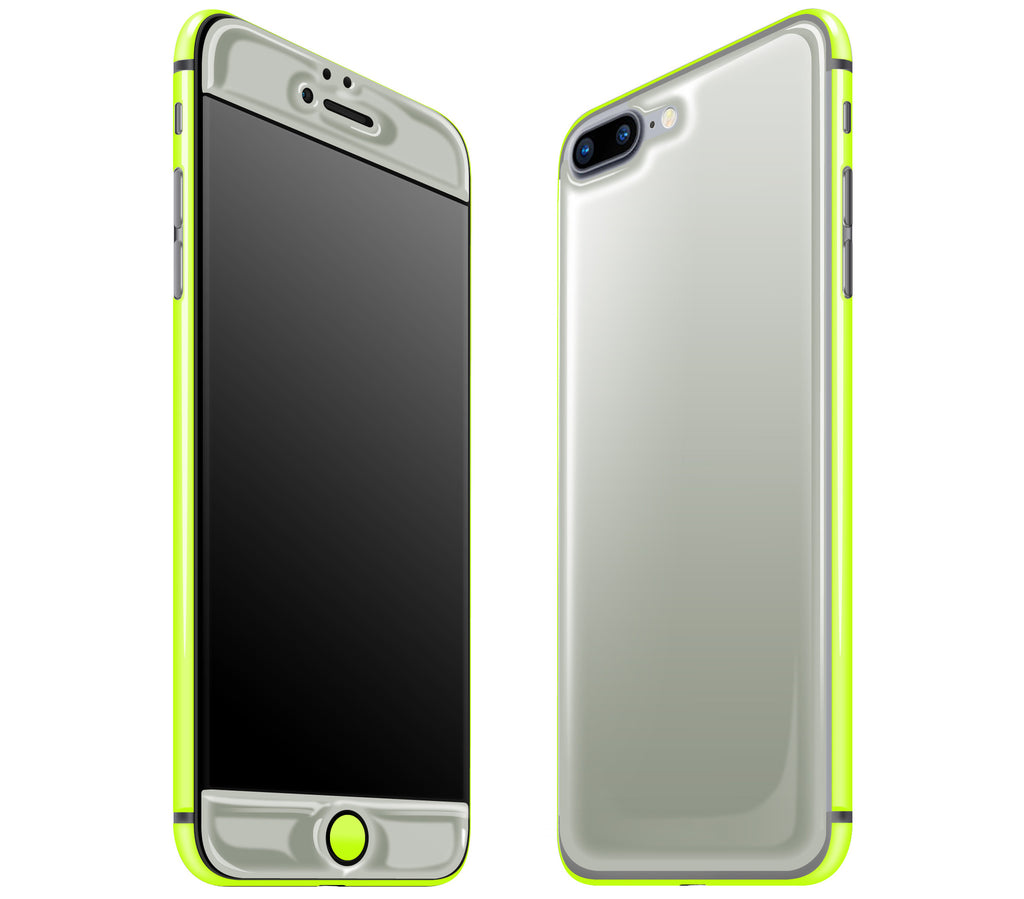 Steel Ash / Neon Yellow <br>iPhone 7 PLUS - Glow Gel Combo
