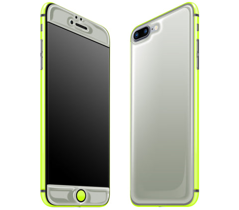 Steel Ash / Neon Yellow <br>iPhone 7/8 PLUS - Glow Gel Combo
