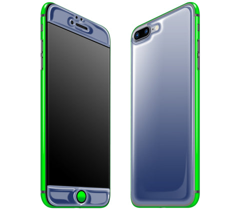 Navy Blue / Neon Green <br>iPhone 7/8 PLUS - Glow Gel Combo