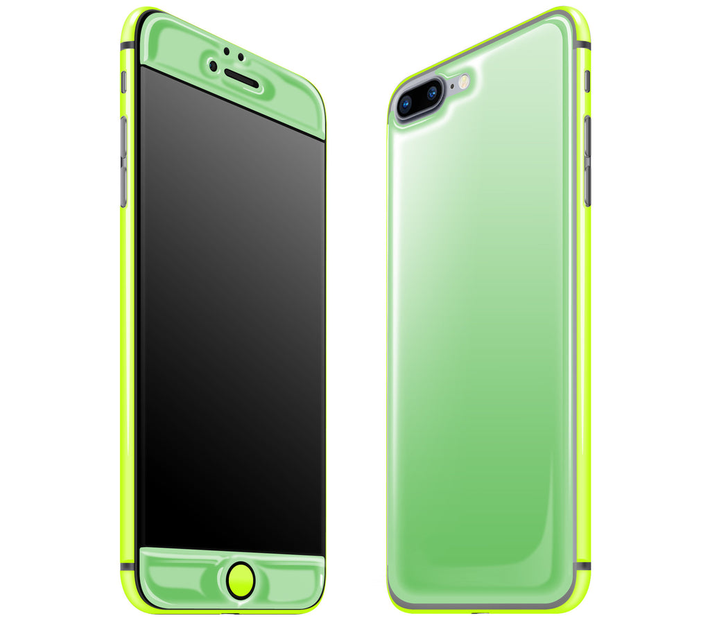 Apple Green / Neon Yellow <br>iPhone 7/8 PLUS - Glow Gel Combo