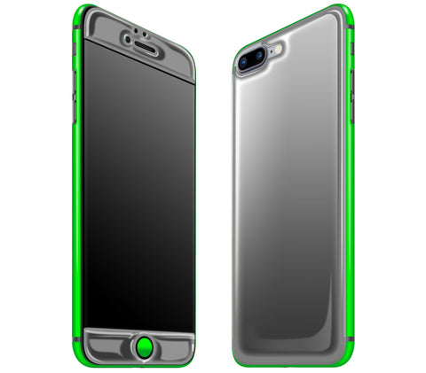 Graphite / Neon Green <br>iPhone 7/8 PLUS - Glow Gel Combo