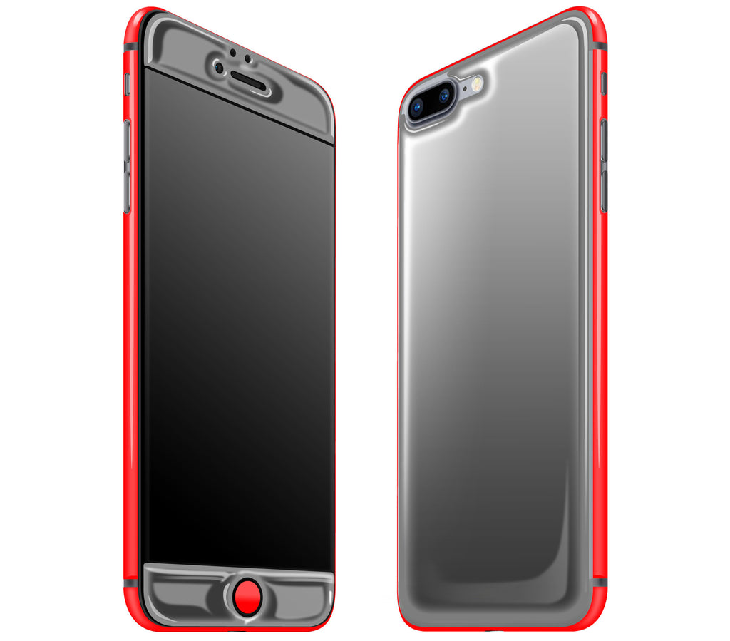 Graphite / Neon Red <br>iPhone 7/8 PLUS - Glow Gel Combo