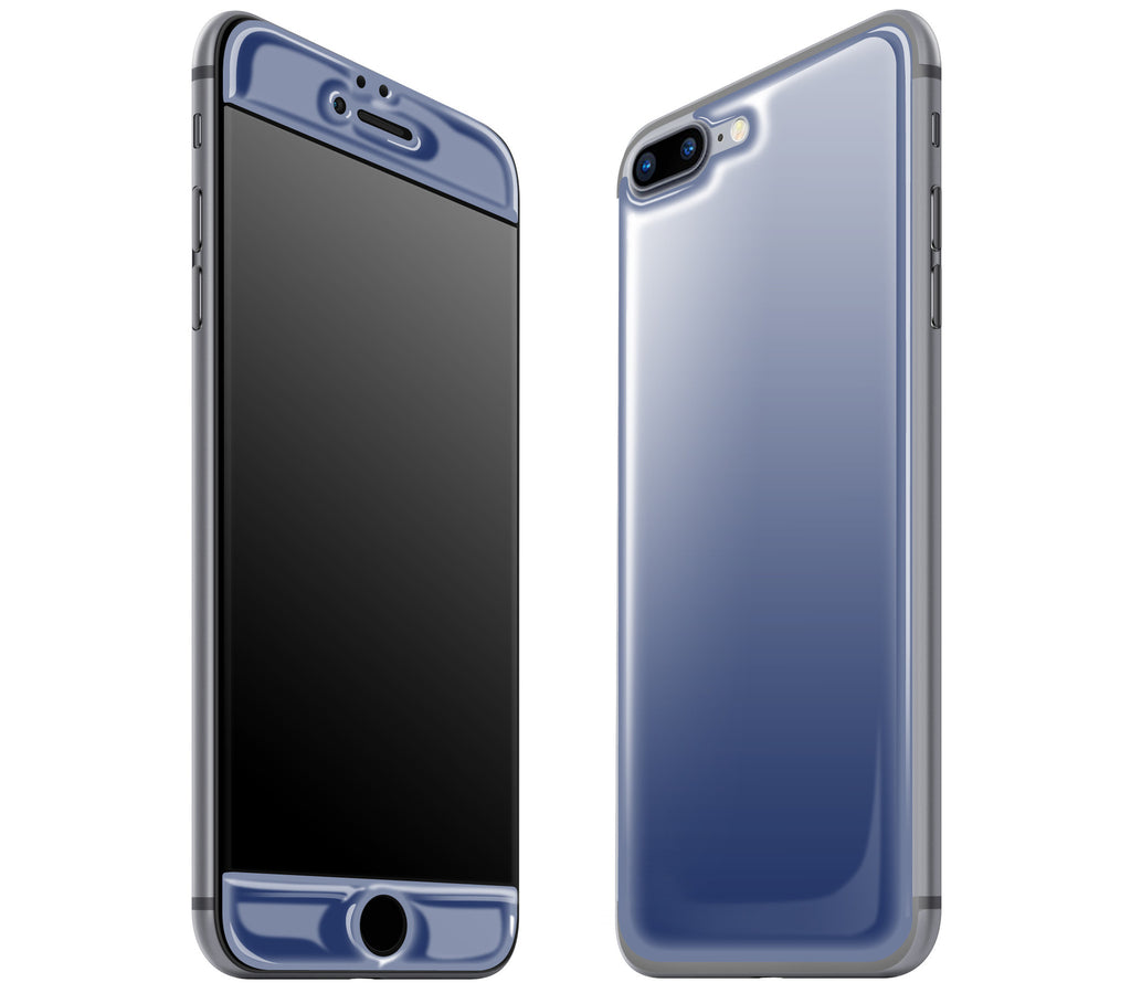 Navy Blue <br>iPhone 7/8 PLUS - Glow Gel Skin
