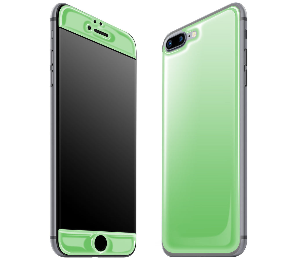 detailed look 4c9f8 ada7e iPhone 7/8 PLUS Case Green Glow In The Dark Gel Skins, Covers and ...