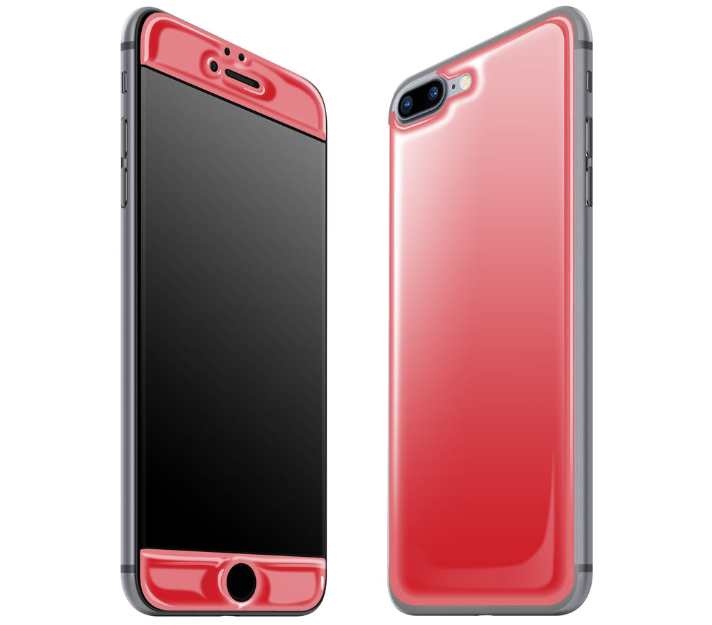 Red <br>iPhone 7/8 PLUS - Glow Gel Skin