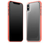 Graphite / Neon Red <br>iPhone X - Glow Gel Combo