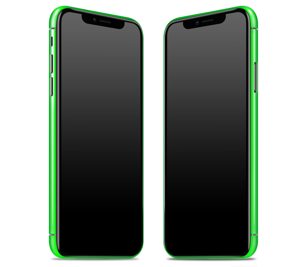 Neon Green <br>iPhone X - Rim Skin