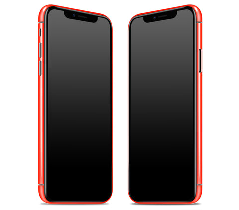 Neon Red <br>iPhone X - Rim Skin