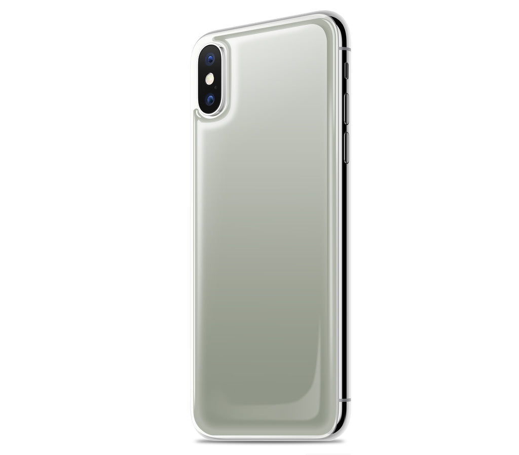 Steel Ash <br>iPhone X - Glow Gel skin