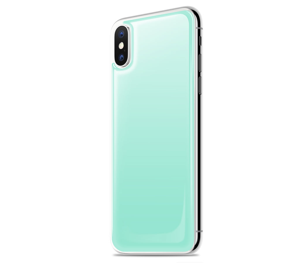 Mint <br>iPhone X - Glow Gel skin