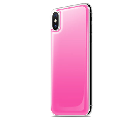 Cotton Candy <br>iPhone X - Glow Gel skin