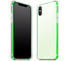 Atomic Ice / Neon Green <br>iPhone X - Glow Gel case combo