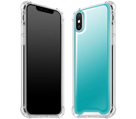 Teal <br>iPhone X - Glow Gel case