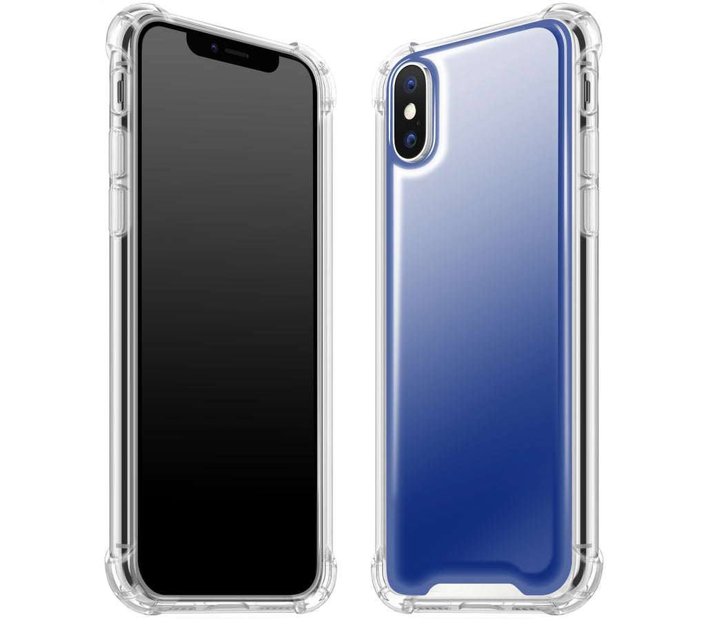 Navy Blue <br>iPhone X - Glow Gel case